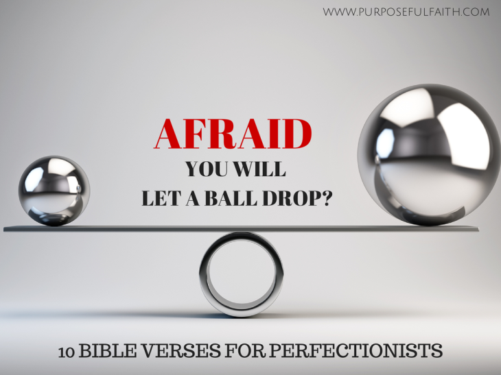 bible verses for perfectionists