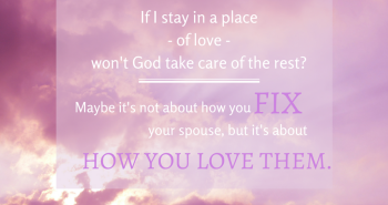 Fix Your Spouse