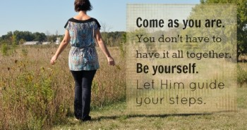 Come As You Are by Katie M Reid for Kelly Balarie's Purposeful Faith