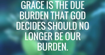 Do You Deflect Amazing Grace?