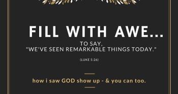 I Saw God