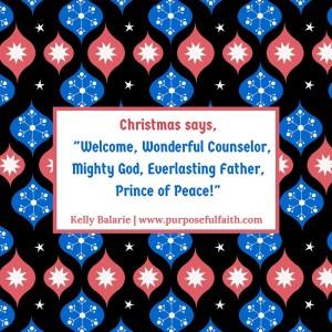 Shine Christ on Christmas