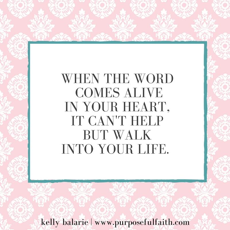when words come alive