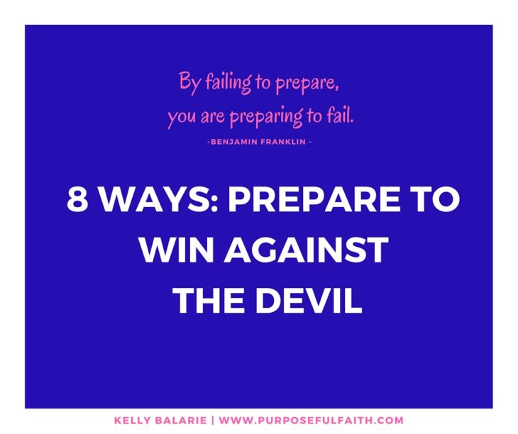 Win Against the Devil