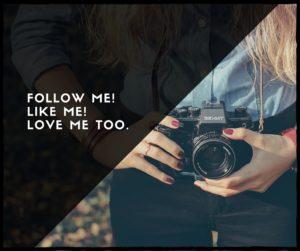 follow me!LIke me!Love Me too.1