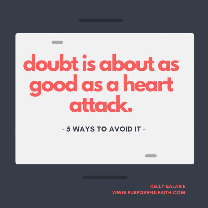 Beat Destructive Doubt