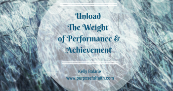 Weight of achievement