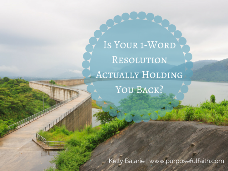 Resolution holding you back