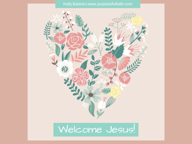 Welcome Jesus