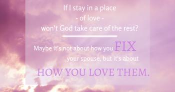 Fix Your Spouse