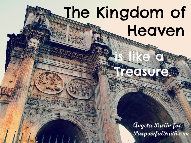 Treasure Kingdom of Heaven Jesus