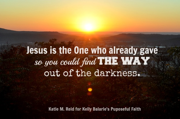 Jesus Is the Way by Katie M. Reid for Purposeful Faith