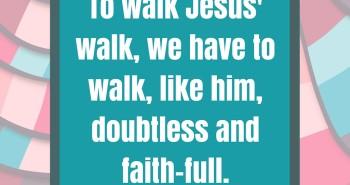 Fight Trials Like Jesus
