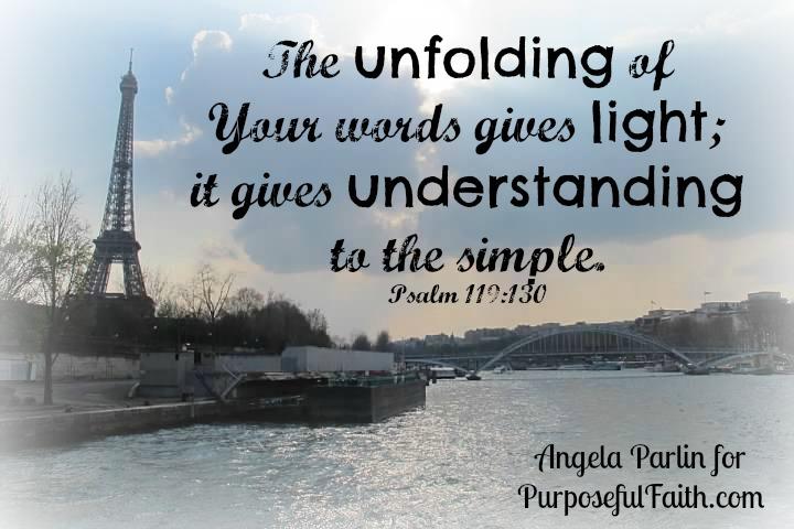 Unfolding God's Word light