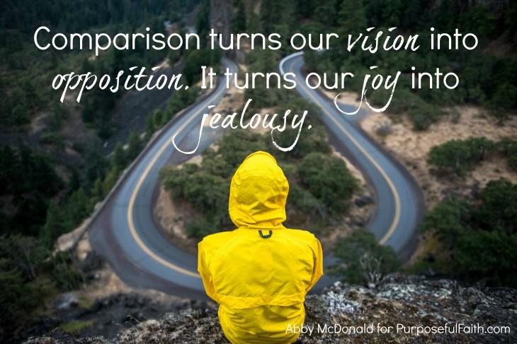 comparison steal your purpose