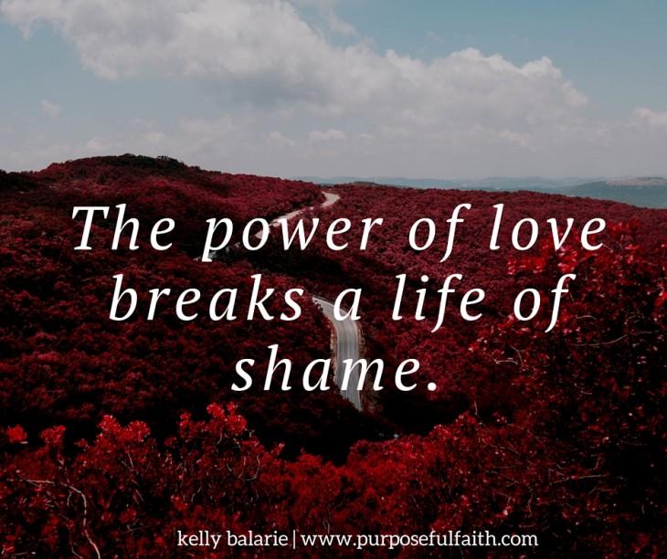 shame tells lies