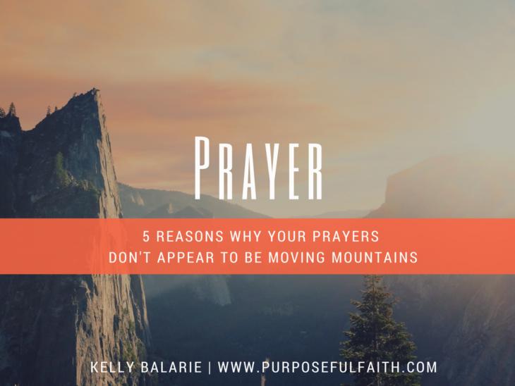 prayer goes unanswered