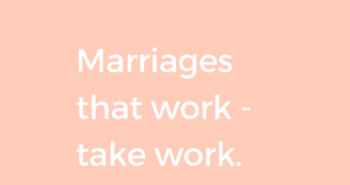 marriage strides