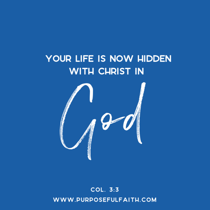 3 ways be in christ change your life purposeful faith